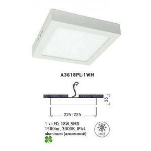 Светильник Arte ANGOLO A3618PL-1WH
