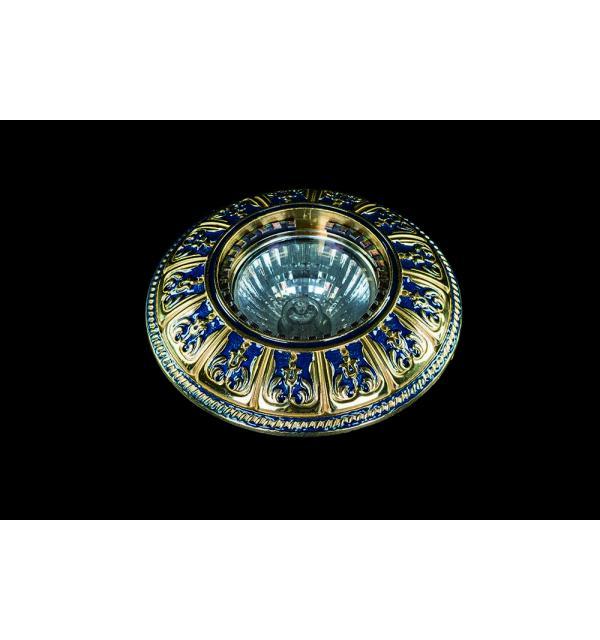 Светильник Artglass SPOT 50 BLUE GOLD