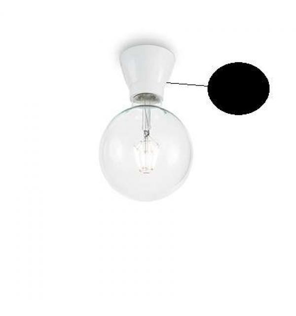 Светильник Ideallux WINERY PL1 NERO 155142
