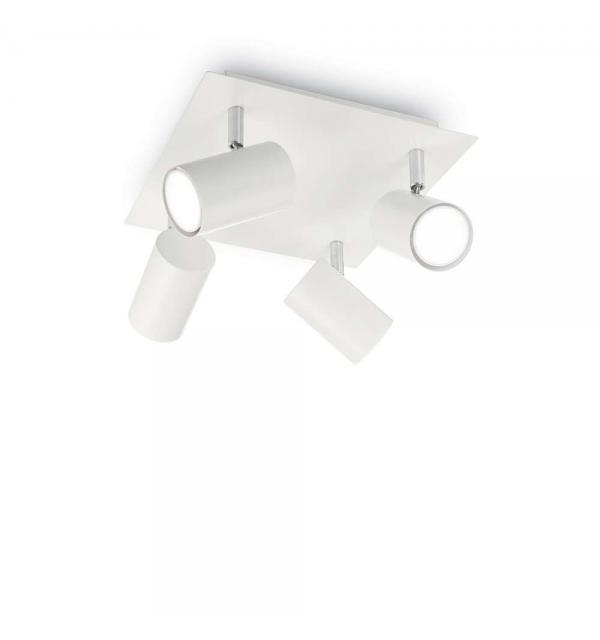 Светильник Ideallux SPOT PL4 BIANCO 156774