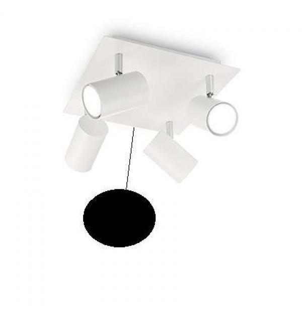 Светильник Ideallux SPOT PL4 NERO 156781