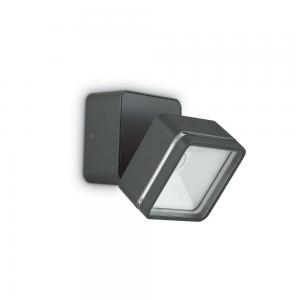 Светильник Ideallux OMEGA SQUARE AP1 ANTRACITE 172514