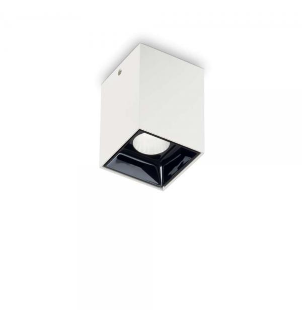 Светильник Ideallux NITRO 10W SQUARE BIANCO 206035