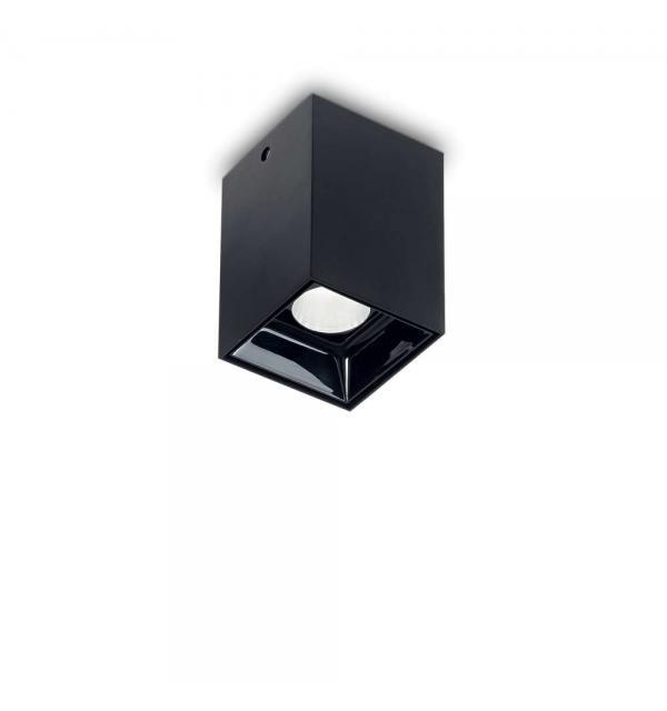 Светильник Ideallux NITRO 10W SQUARE NERO 206042