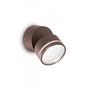 Светильник Ideallux OMEGA AP ROUND COFFEE 4000K 247069