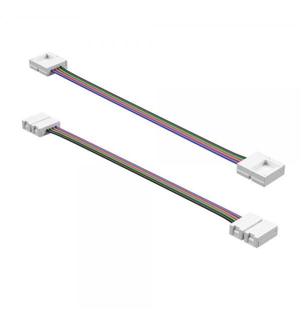 408111 Соединитель гибкий/ Кабель питания  для ленты 12V 5050LED цветной RGB