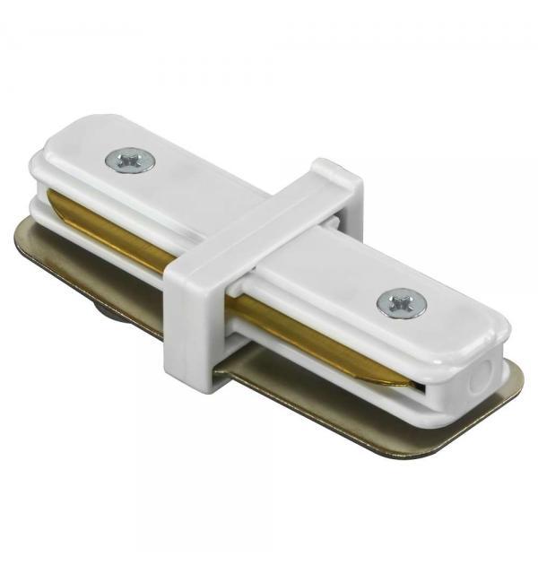 Соединитель малый прямой однофазный Lightstar BARRA 502106