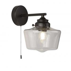 Светильник Searchlight SCHOOL HOUSE 8708-1BK